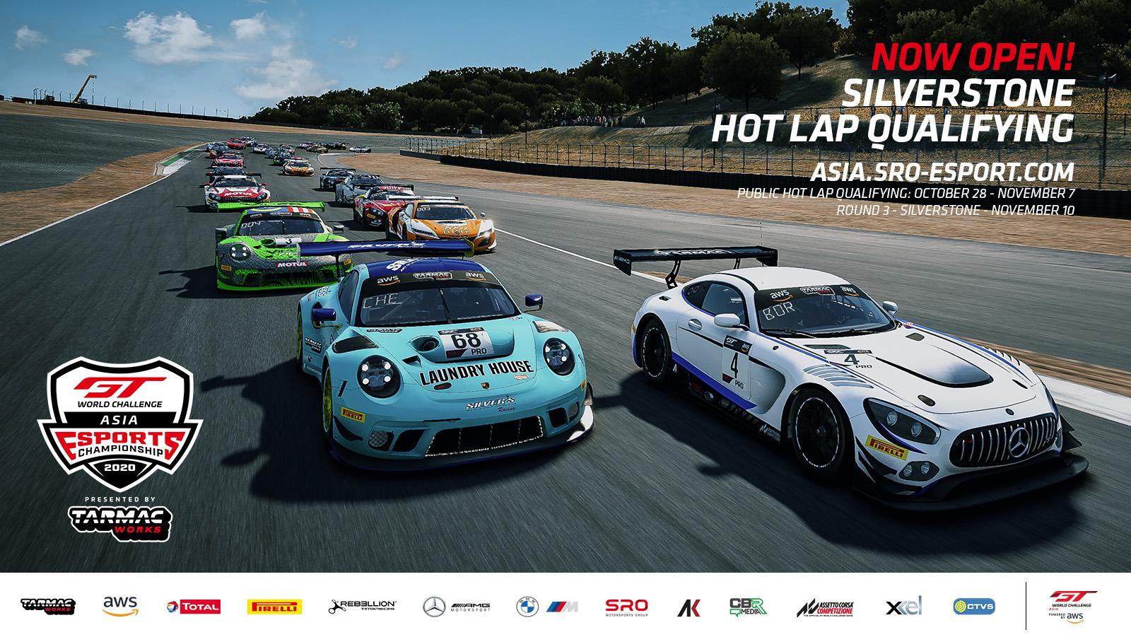 Esports: Silverstone public hot lap qualifying now open