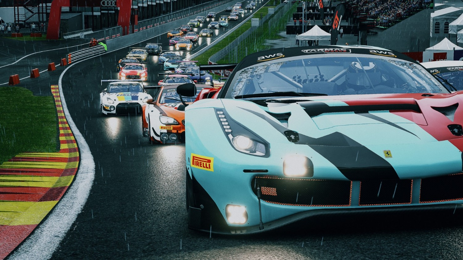 Wins for Borg, Maulana, Lo and Stanley in penultimate TCL GT World Challenge Asia Esports Presented by Tarmac Works round at Spa
